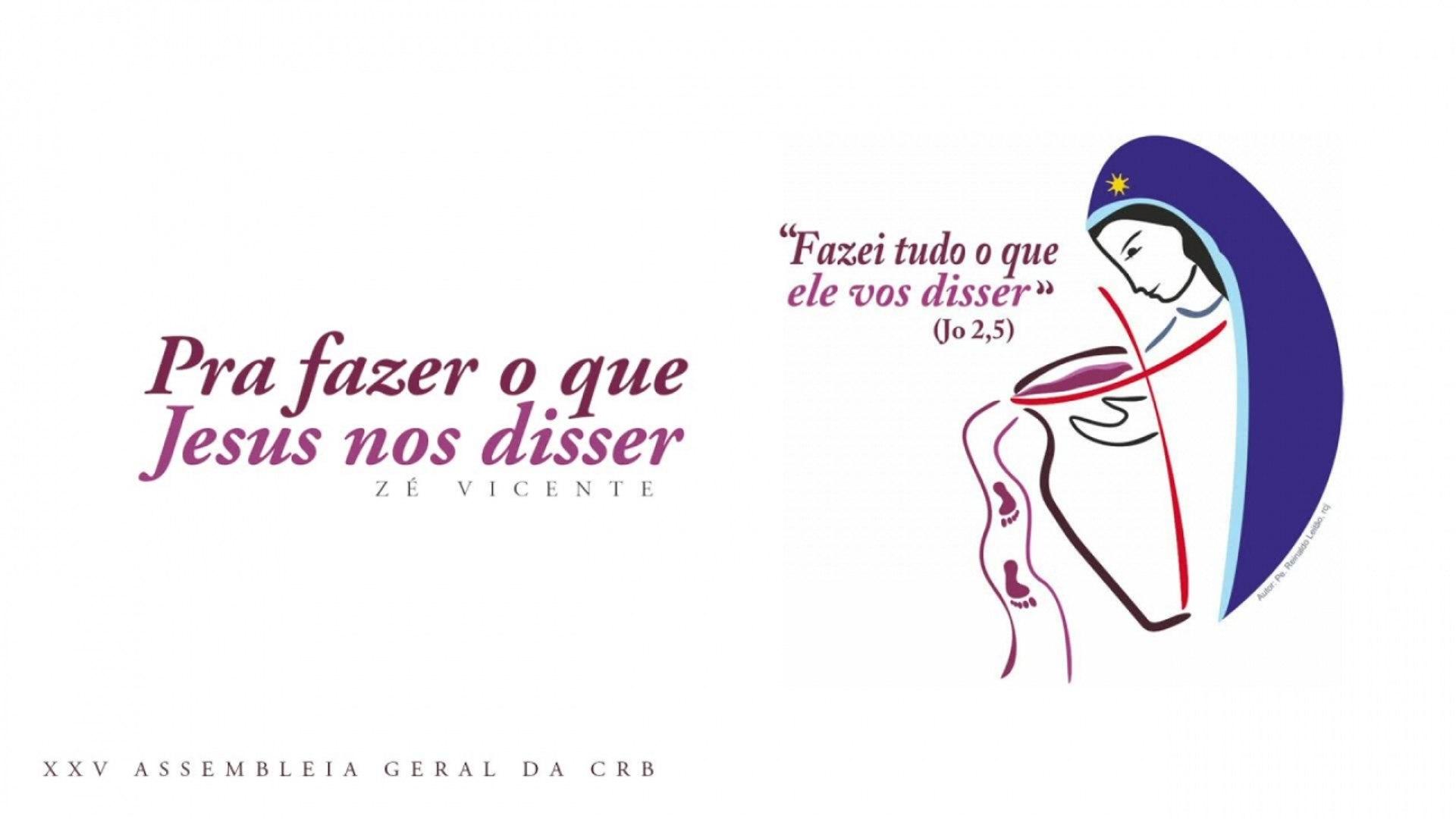 Zé Vicente - Pra fazer o que Jesus nos disser - (Hino AGE CRB 2019 - Lyric Vídeo)