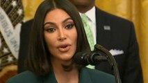Kim Kardashian West touts criminal justice reform at White House