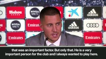Eng sub: 'I'm not a Galactico yet,' says Hazard as he signs for Real Madrid
