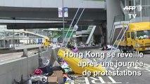 Hong Kong se réveille après une nouvelle journée de protestation