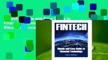 Fintech: Simple and Easy Guide to Financial Technology(fin Tech, Fintech Bitcoin, Financial