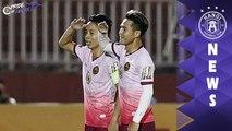 Khoảnh khắc trở về mái nhà xưa của Quốc Long - Ngọc Duy | HANOI FC
