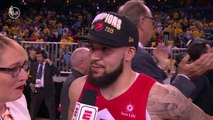 Fred VanVleet Post Game Interview Following NBA Title Win