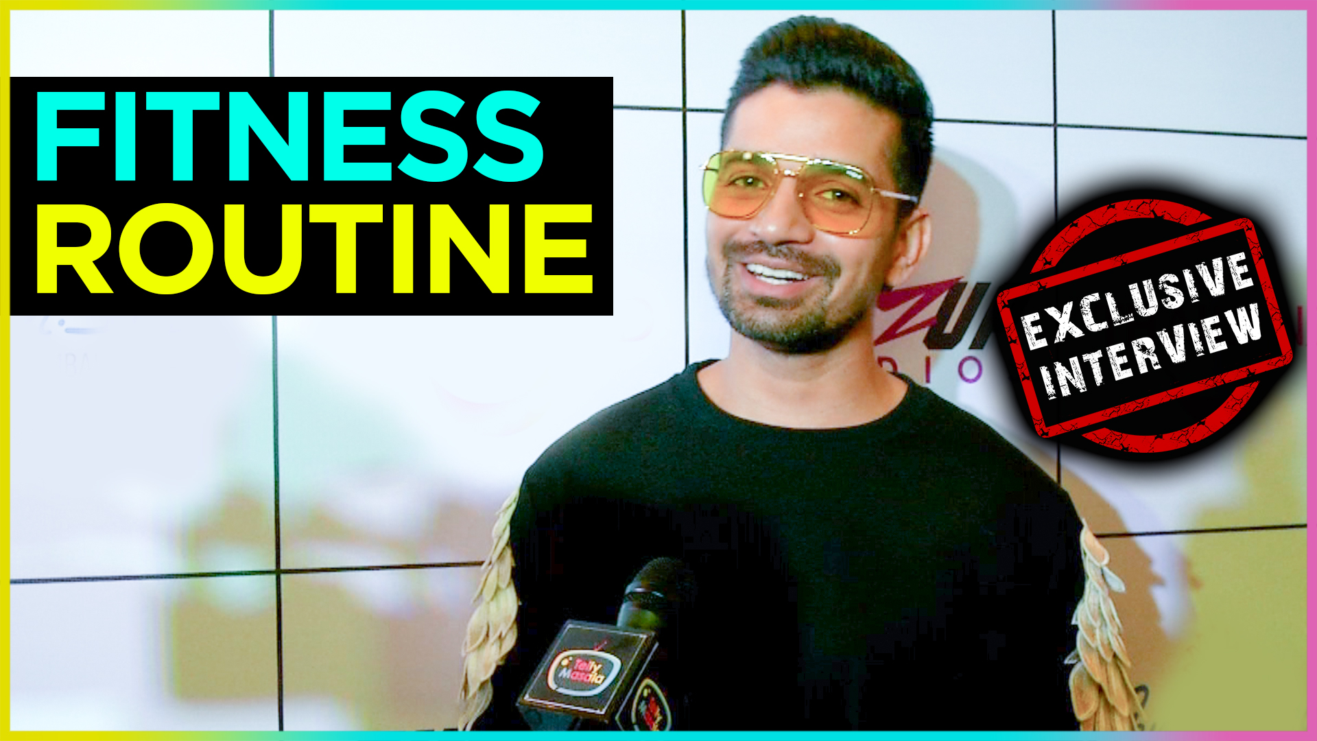 Vishal Singh FUNNY REACTION On His Fitness Routine | Fitness In Phuket