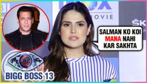 Zarine Khan FINALLY Reacts On Her Bigg Boss 13 ENTRY