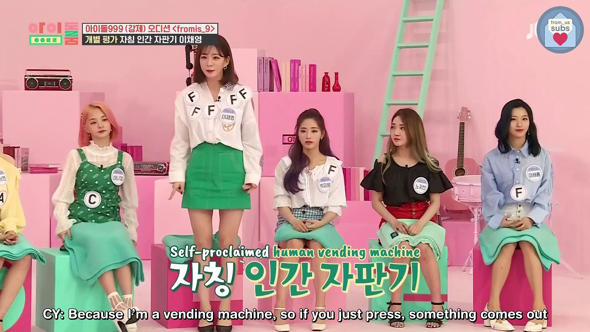 [ENG][190604] fromis_9 Idol Room EP53