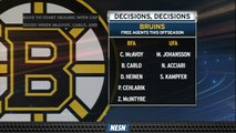 Bruins Turn To Offseason Checklist Following Stanley Cup Final