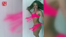 Shakira, sosyal medya hesabından  bikinili videosunu paylaştı