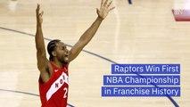 The Raptors Are NBA Champions