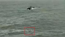 Indian Coast Guard helicopter rescues man from drowning off Goa   Viral Video   Oneindia News