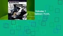 Coloring DC: Batman Hush, Volume 1 (DC Comics Coloring Book: Batman Hush, #1)  For Kindle