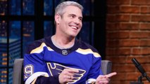 Andy Cohen Cheered the St. Louis Blues' Stanley Cup Win Surrounded by Bruins Fans