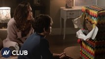 Aubrey Plaza and Gabriel Bateman of Child's 's Play rate our creepy doll collection