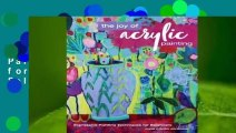 The Joy of Acrylic Painting: Expressive Painting Techniques for Beginners  Best Sellers Rank : #2