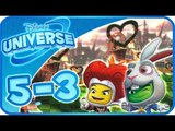 Disney Universe Walkthrough Part 5 - 3 (PS3, Wii, X360) 100% ~ Alice in Wonderland - 3