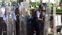 مواجهات بين الشرطة ومحتجين في هونغ كونغ بسبب قانون تسليم المطلوبين