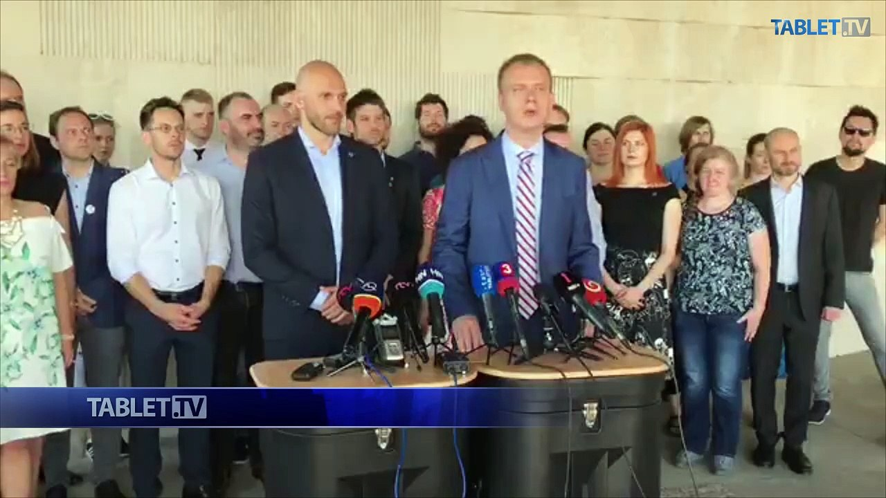 ZÁZNAM: TK hnutia Progresívne Slovensko a Spolu - občianska demokracia