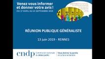 Débat public PNGMDR - Réunion publique - Rennes- 13 juin 2019 - Partie 2