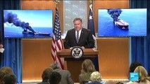 """Attaques en mer d'Oman : Téhéran accuse Washington de """"sabotage diplomatique"""""""