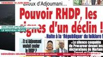 Le Titrologue du 14 Juin 2019 - Sang versé chez Bédié - Pouvoir RHDP, les signes d'un déclin