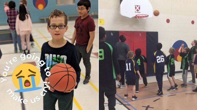 Raptors Fan With Autism Scores Basket Thanks To Teammates