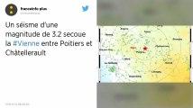 Vienne. Un séisme de magnitude 3,2 ressenti entre Poitiers et Châtellerault