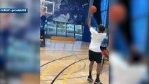 Kylian Mbappé régale au basket  !