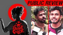 Public Review Of Game Over Movie| Taapsee Pannu