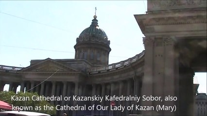 Cathedral of Our Lady of Kazan, St Petersburg - Russia Holidays