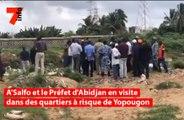 A'Salfo et le Préfet d'Abidjan en visite dans des quartiers à risque de Yopougon