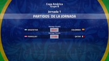Previa de la Jornada 1 Copa América Grupo 2