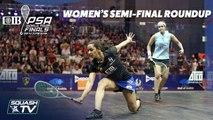 Squash: CIB PSA World Tour Finals 2018/19 - Women's Semi-Final Roundup