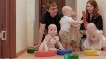 Eine besondere Familie: So lebt es sich mit Vierlingen
