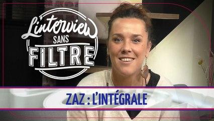 Zaz se prête au jeu de L'Interview sans filtre !