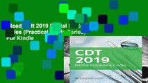 [Read] Cdt 2019 Dental Procedure Codes (Practical Guide Series)  For Kindle