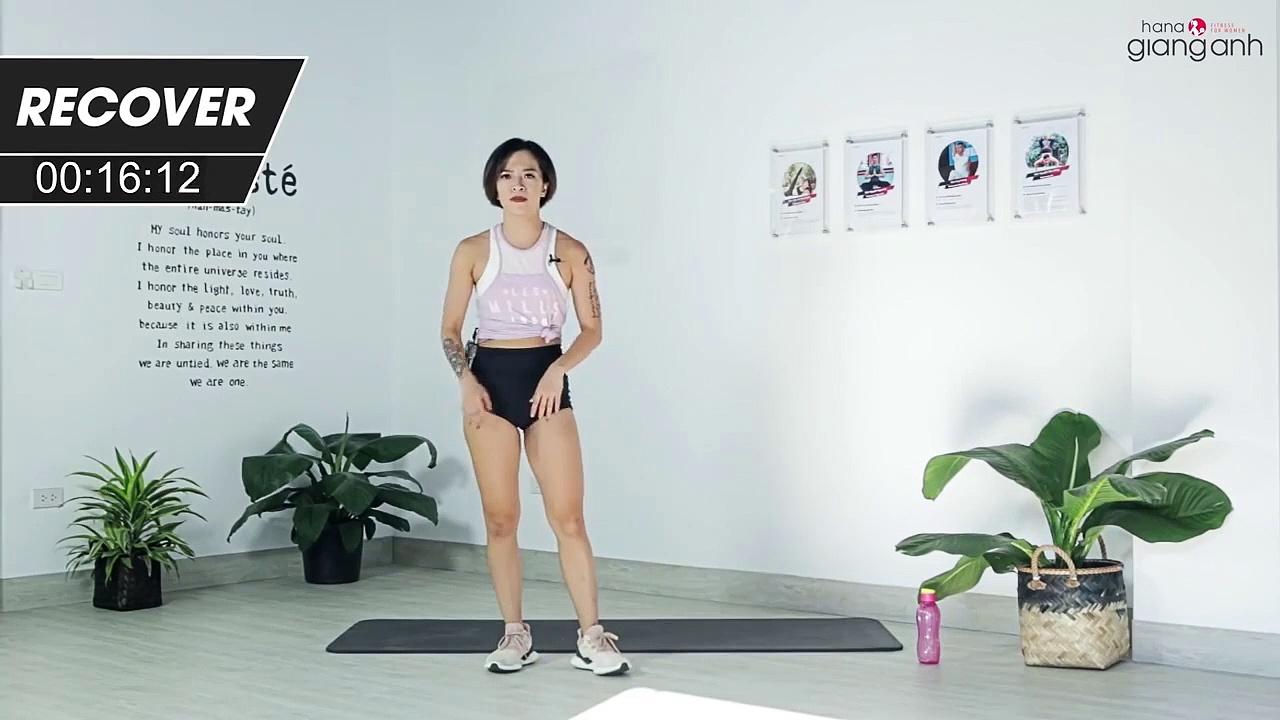 7 ngày siết mỡ bụng của HLV Hana Giang Anh (ngày thứ 3)