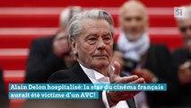 Alain Delon hospitalisé: la star du cinéma français aurait été victime d'un AVC!