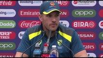 Australia's Aaron Finch pre Sri Lanka