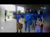 RTG/Célébration de la fête des mères en différé au canton Ouéle - remise de cadeaux aux mamans par la délégation de la député