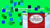 About For Books  Merriam-Webster's Collegiate Dictionary by Merriam-Webster