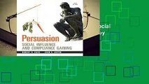Trial New Releases  Persuasion: Social Influence and Compliance Gaining by Robert H. Gass