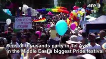 Tel Aviv: Middle East's biggest Gay Pride festival