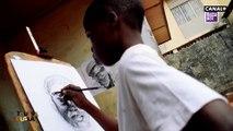 Kareem Waris Olamilekan est peintre professionnel à seulement 12 ans - Dans Toussa Toussa