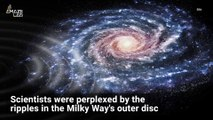 Strange Ripples in the Milky Way Suggest it Collided with Another Galaxy