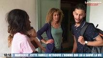 Le 18:18 - Exclusif : la famille victime de l'incendie de la rue de Rome à Marseille retrouve son sauveteur héroïque