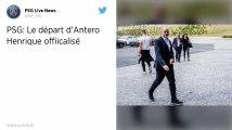 Antero Henrique quitte le PSG