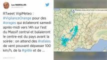 Orages. Météo France place cinq départements en alerte orange