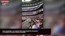 Real Madrid : Le public réclame Kylian Mbappé pendant la présentation d'Eden Hazard (Vidéo)