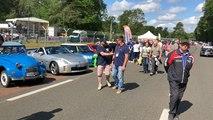 A Mulsanne, les passionnés d'auto ont pris possession du circuit