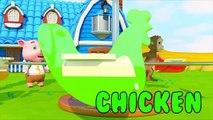 Kinder Spielen Lustig Baby gegen Affenball zuckte Tiere - Kinderlieder Bildung Für Kinder